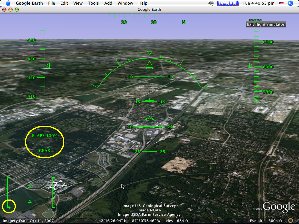Tutorial How To Land A Plane In Google Earth Flight Simulator