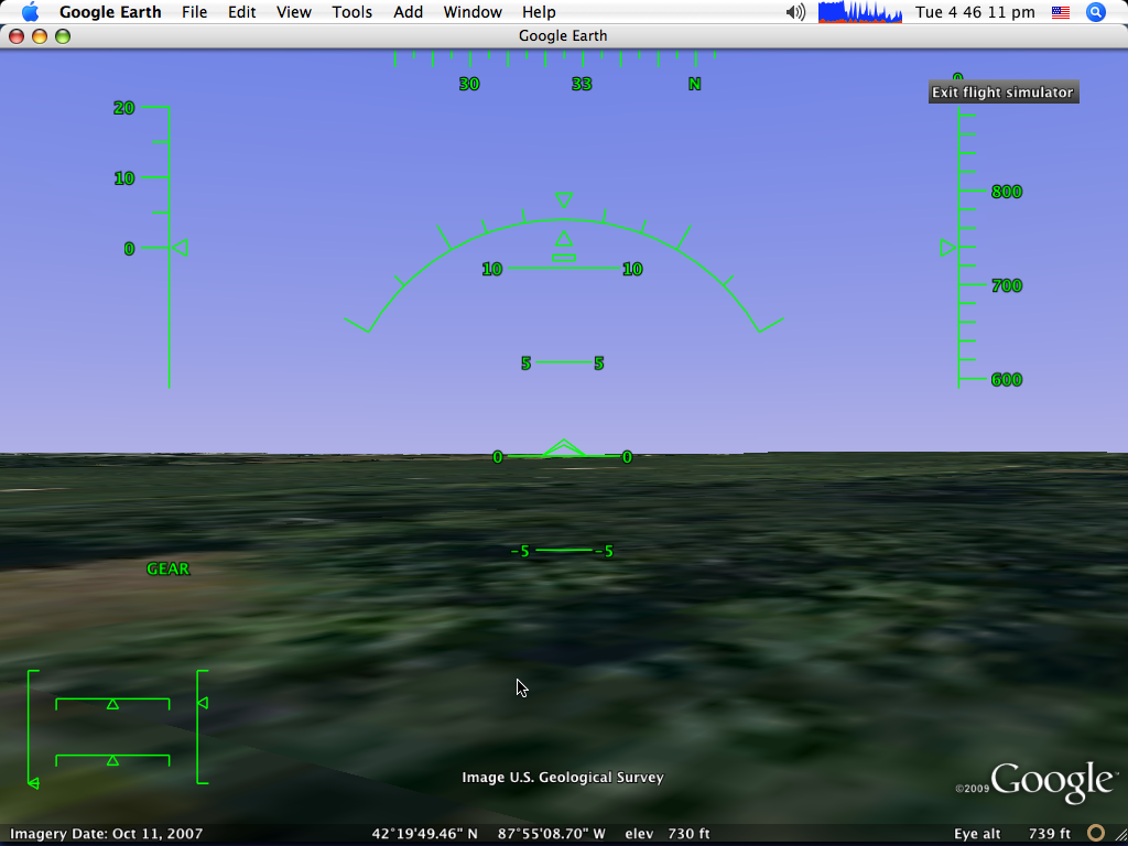 Tutorial: How to land a plane in Google Earth Flight